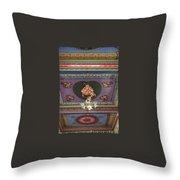 Buddha Ceiling Throw Pillow