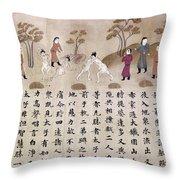 Buddha: Early Life Throw Pillow