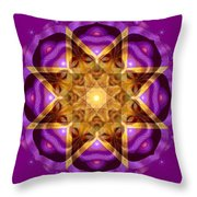 Buddha Mandala Throw Pillow