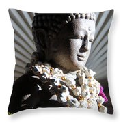Buddha Mind Throw Pillow