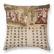 Buddha: Prince Gautama Throw Pillow
