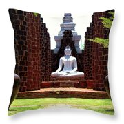 Buddha Samadhi Throw Pillow