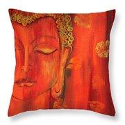 Buddha - The Self Possession Throw Pillow