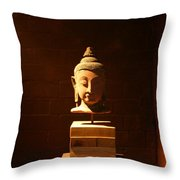 Buddhism In Belgium Throw Pillow