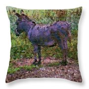 Buddies Take A Walk Throw Pillow