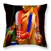 Buddism And Pepsi Shrine Throw Pillow