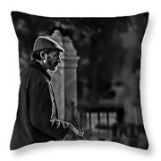 Buddy Can You Spare A Dime? Throw Pillow