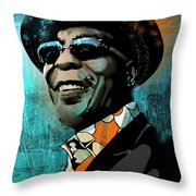 Buddy Guy Throw Pillow