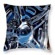 Budnik Wheel 01 Throw Pillow