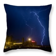 Budweiser  Storm Throw Pillow