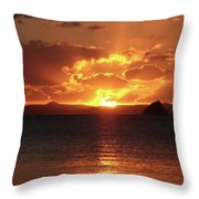 Buenos Noches Throw Pillow