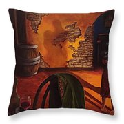 Adobe Walls  Throw Pillow