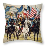 Buffalo Bill: Poster, 1893 Throw Pillow by Granger
