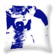 Buffalo Bills Mario Williams Throw Pillow