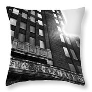 Buffalo Central Terminal Throw Pillow