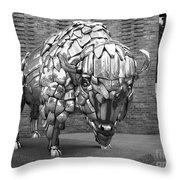 Buffalo Grand Junction Co Throw Pillow