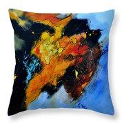 Buffalo-like Abstract  Throw Pillow