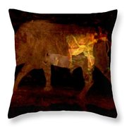 Buffalo's Bluff Series 1 Throw Pillow