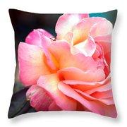 Buffum Rose Throw Pillow