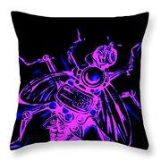 Bug 9 Throw Pillow