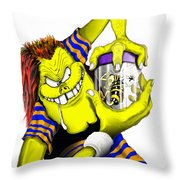 Bug Collector Throw Pillow