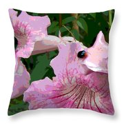 Bug Considering Going There Throw Pillow