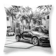 Bugatti Chiron 5 Throw Pillow