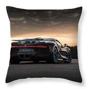Bugatti Chiron Throw Pillow