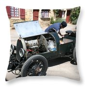 Bugatti Oldtimer Throw Pillow