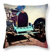 Bugatti Type 35c Throw Pillow