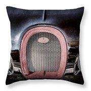 Bugatti Veyron Legend Grille Emblem -0488ac Throw Pillow