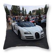 Bugatti Veyron Throw Pillow