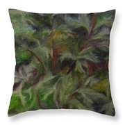 Bugbane Throw Pillow