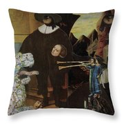 Bugle's For Tiger Throw Pillow