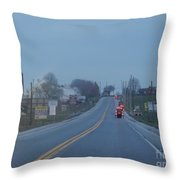 Buggies Travel In All Directions Throw Pillow
