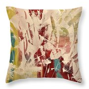 Bug's Garden Throw Pillow