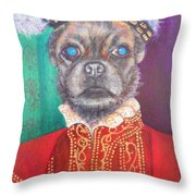 Bugsy First Earl Of Primrose Throw Pillow