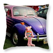 Bugsy I Throw Pillow