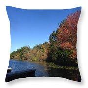 Buhl Lake Throw Pillow