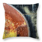Buick Fender Abstract Throw Pillow
