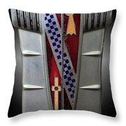 Buick Grill Emblem Throw Pillow