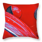 Buick Lasalle Portholes And Fender #3 Throw Pillow