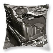 Buick Road Trip Throw Pillow
