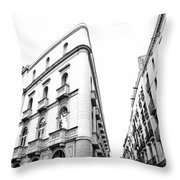 Building Barcelona Throw Pillow