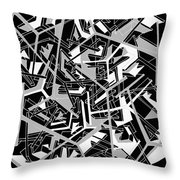 Building Blocks 2 Throw Pillow