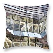 Building Closeup In Manhattan 10 Throw Pillow
