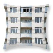 Building Construction Throw Pillow