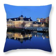 Building Of The Royal Dutch Mint In Utrecht 19 Throw Pillow