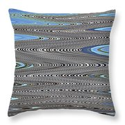 Building Stretch Abstract Throw Pillow