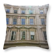 Building Windows Throw Pillow